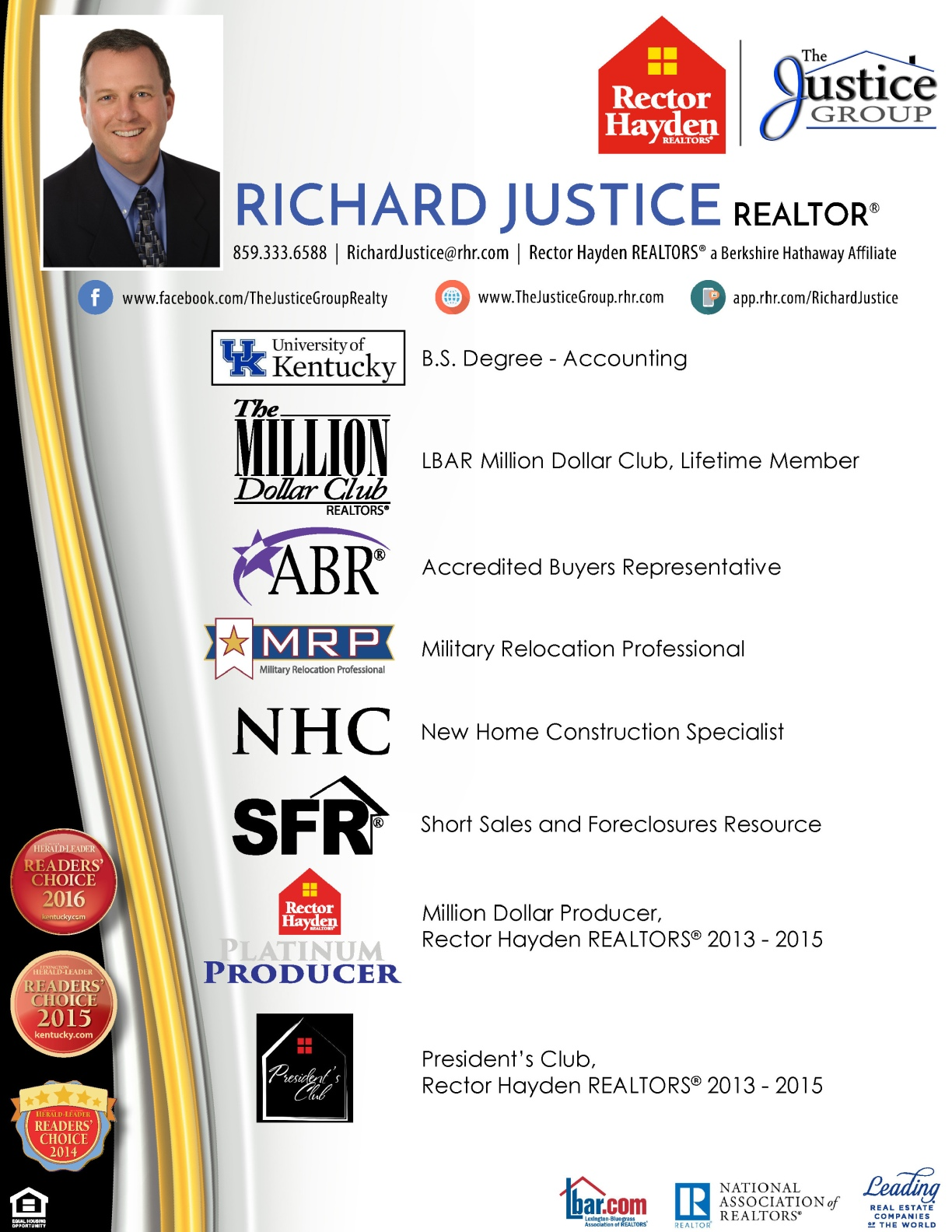 Richard Justice - Resume